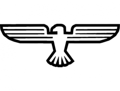 eagle 2 Free Dxf File for CNC
