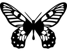 borboleta Free Dxf File for CNC