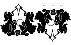 art Free Dxf File for CNC