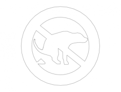 dog shit no Free Dxf File for CNC