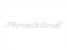 firebird Free Dxf File for CNC