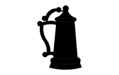 beer stein Free Dxf File for CNC