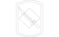 knife Free Dxf File for CNC
