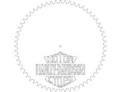 harley davidson hd ur Free Dxf File for CNC