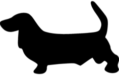 basset 1 Free Dxf File for CNC
