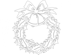 holiday attraction 14 Free Dxf File for CNC