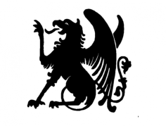 griffin Free Dxf File for CNC