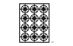 pattern 1g Free Dxf File for CNC