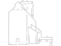 grain elevator Free Dxf File for CNC