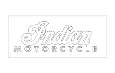indian motorcycle logo Free Dxf File for CNC