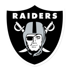 250px oakland raiders Free Dxf File for CNC