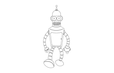 bender Free Dxf File for CNC