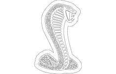 cobra Free Dxf File for CNC