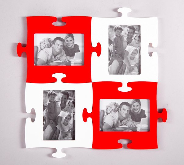 Puzzle Photo Frames Free Vector Cdr