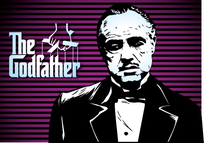 Marlon Brando Godfather Poster Free Vector Cdr