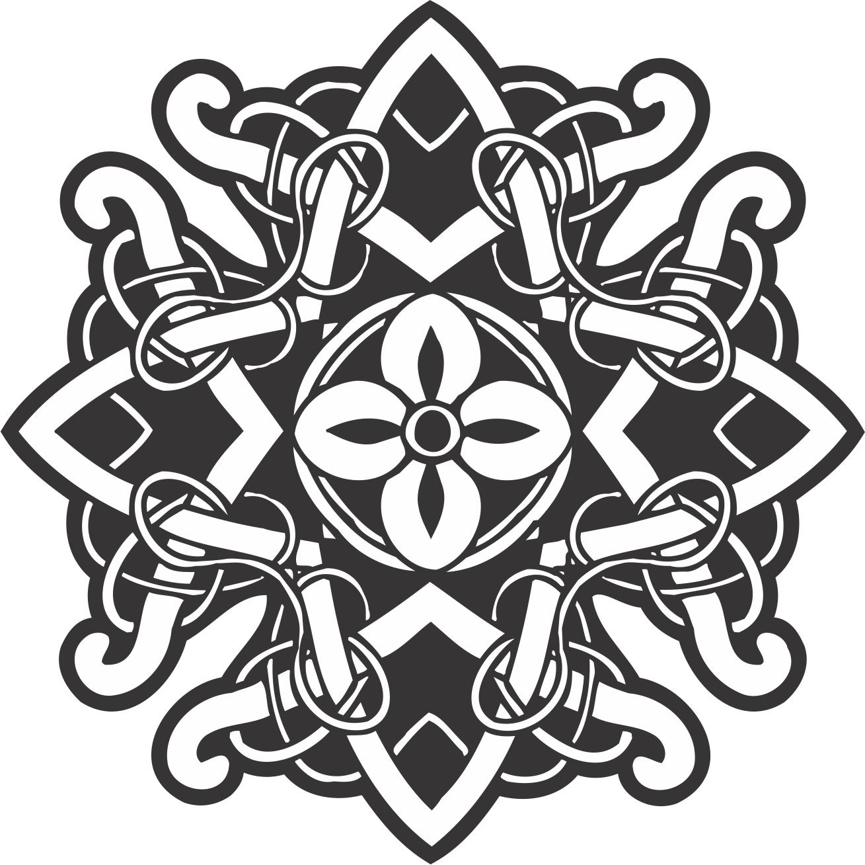 Celtic Ornament Decoration Free Vector Cdr