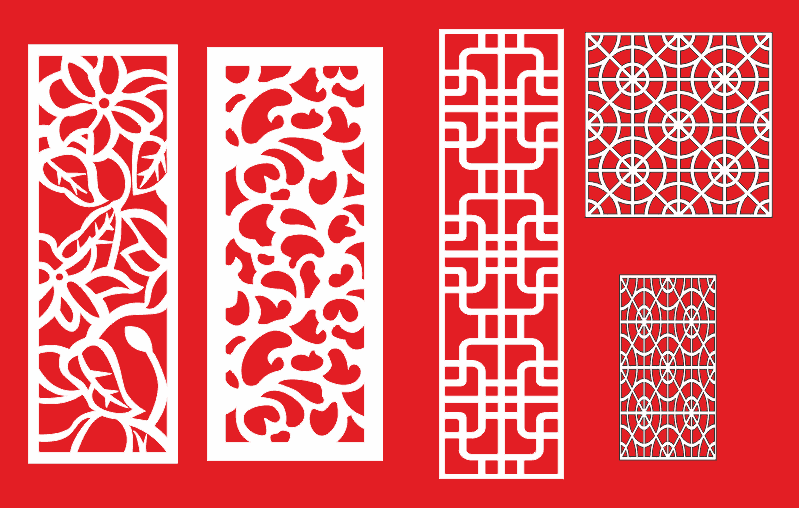 Vector pattern for cnc routing Free Vector Cdr