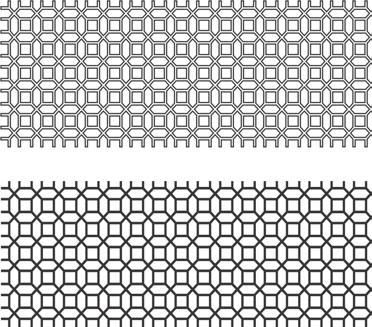 Screen Panel Pattern Free Vector Cdr