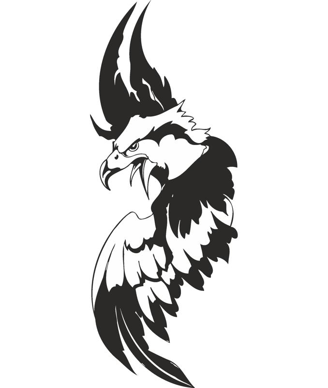 Eagle Sticker Free Vector Cdr