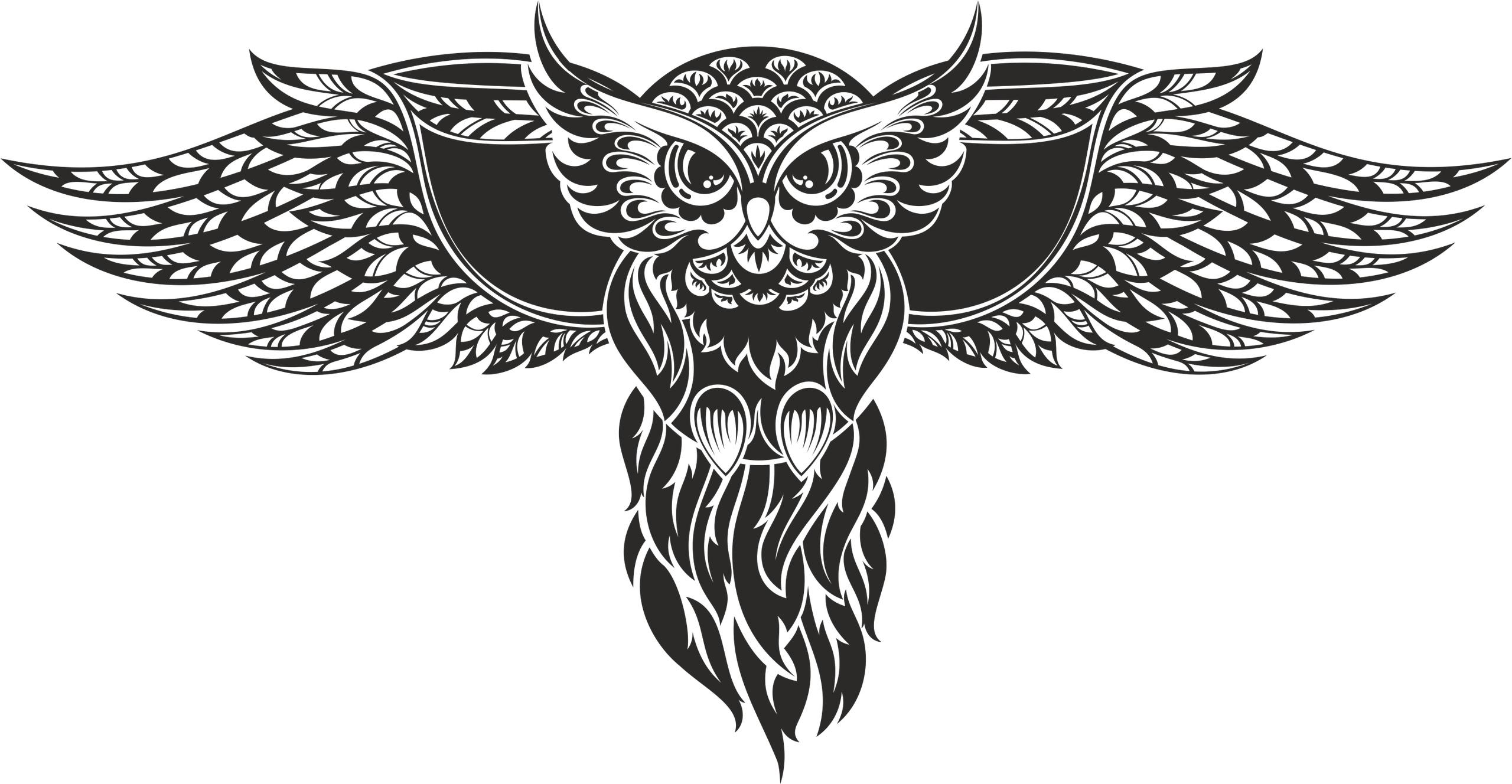 Owl Vector Free Vector Cdr