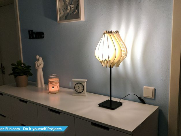 Lamp Laser Cutting Free Vector Cdr