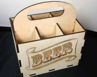 6 Pack Beer Holder Free Vector Cdr