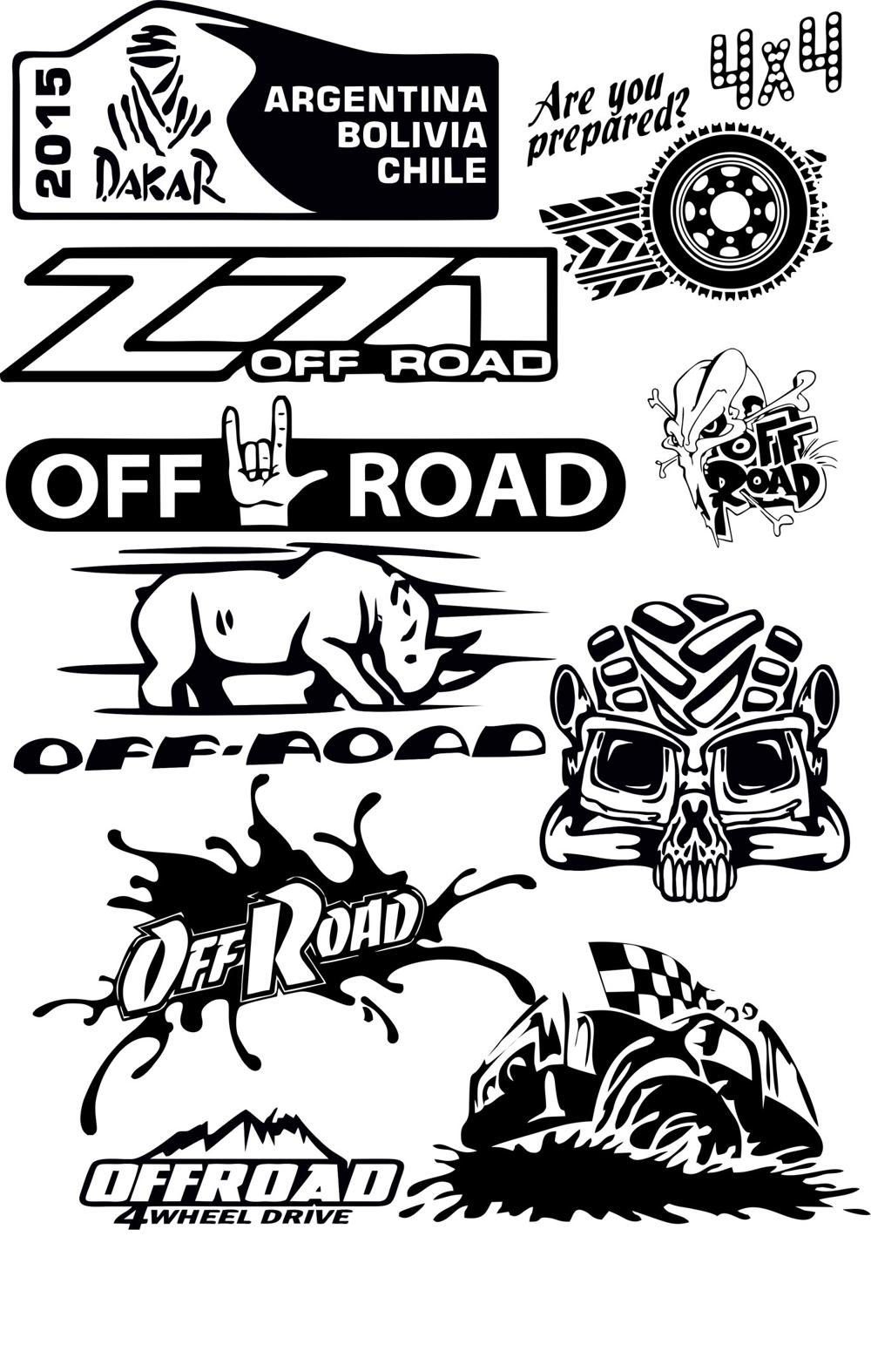 Offroad Vector Pack Free Vector Cdr