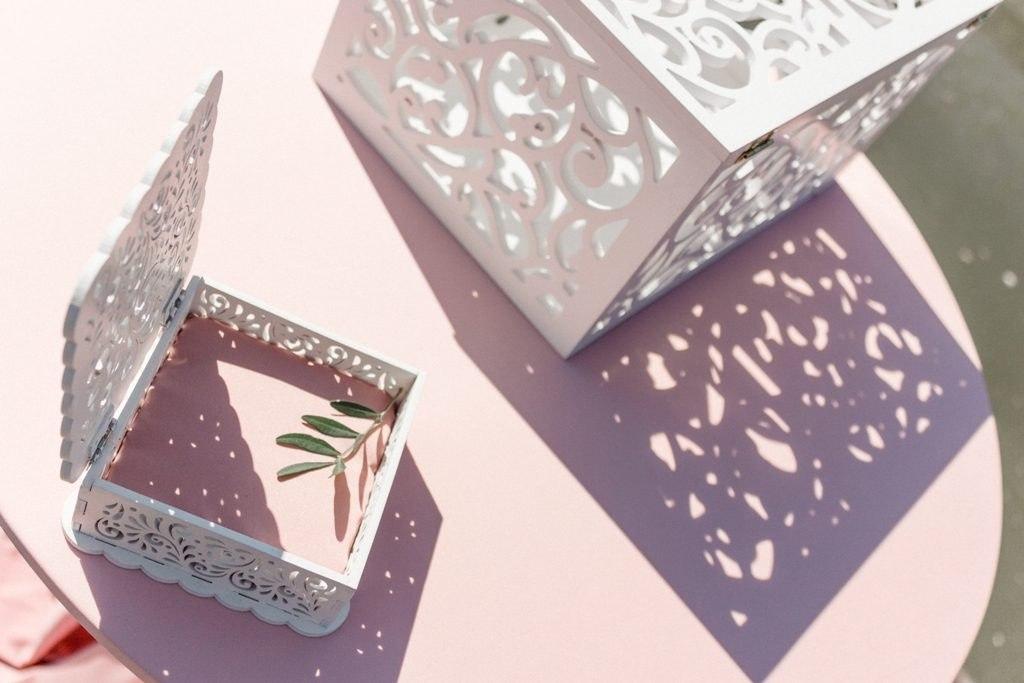 Wedding Box for Money Free Vector Cdr