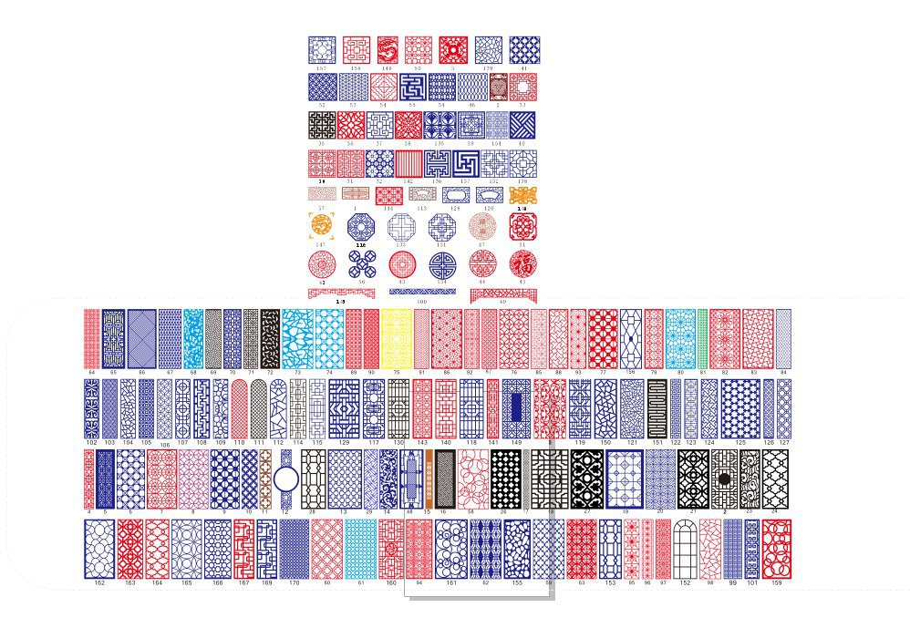 All Kinds Of China Pattern Free Vector Cdr