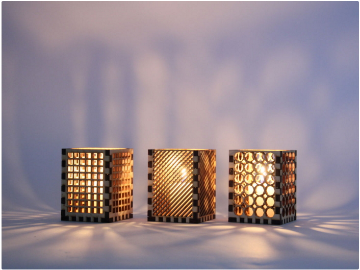 Laser Cut Candle Holder Free Vector Cdr