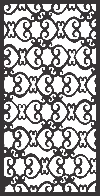 Window Grill Fancy Design Free Vector Cdr