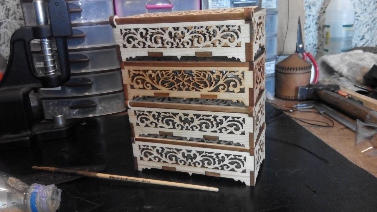 Wooden Casket Box Free Vector Cdr