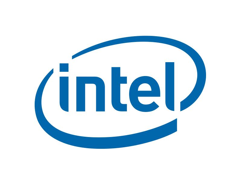 Intel Logo Free Vector Cdr