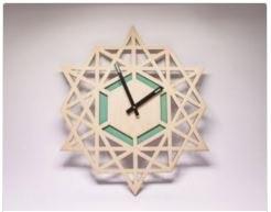 Clock Laser Cut Free Vector Cdr