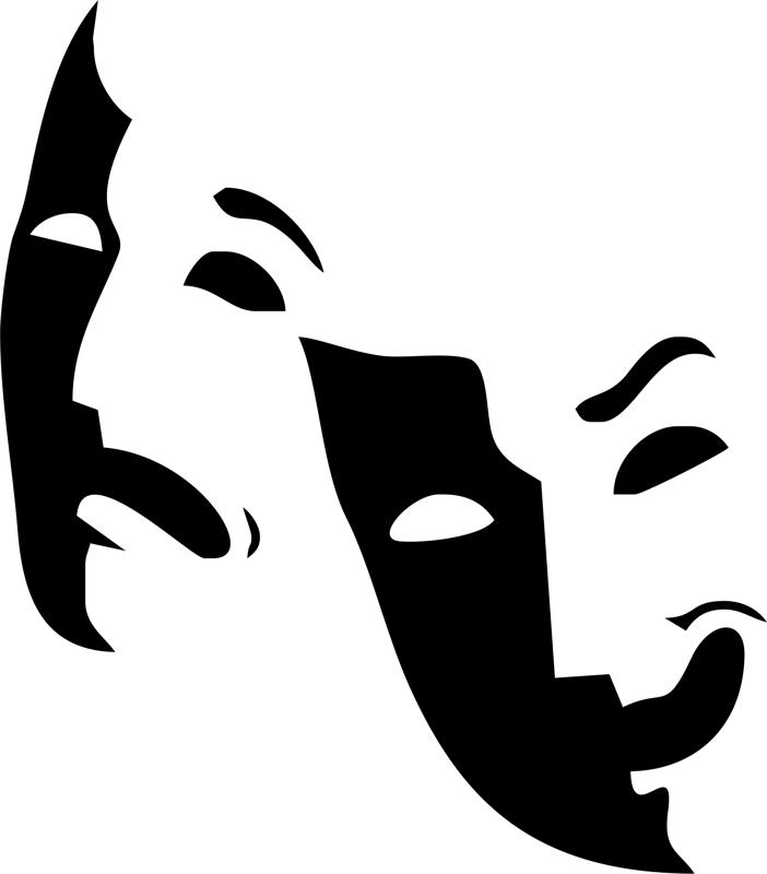 Theater Logo Mask Free Vector Cdr