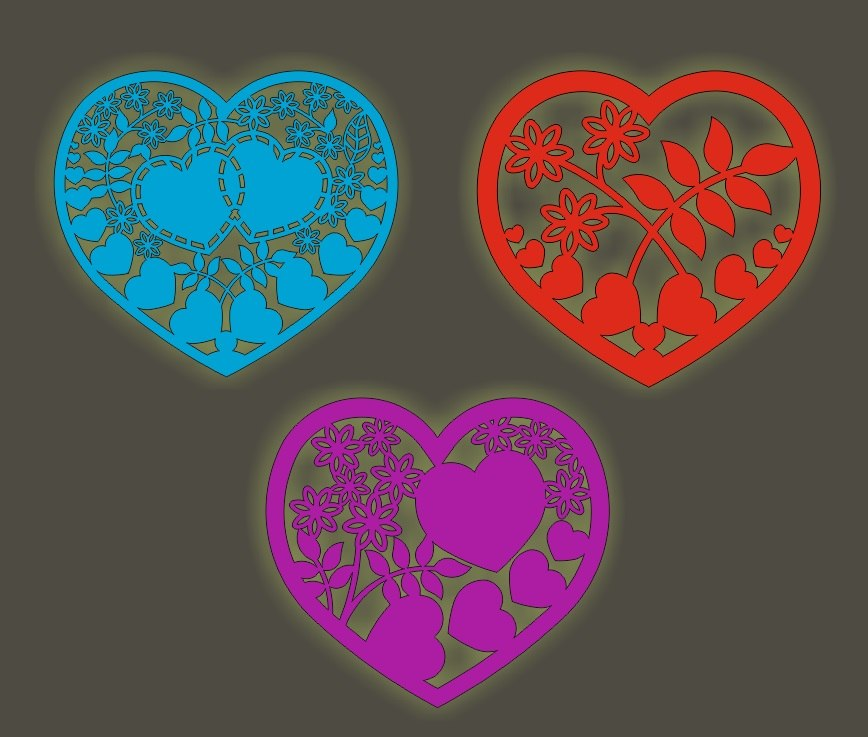 Free Free Vector Laser Cutting Hearts Free Vector Cdr