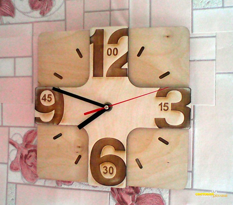 Laser Cutting Wall Clock Free Vector Cdr