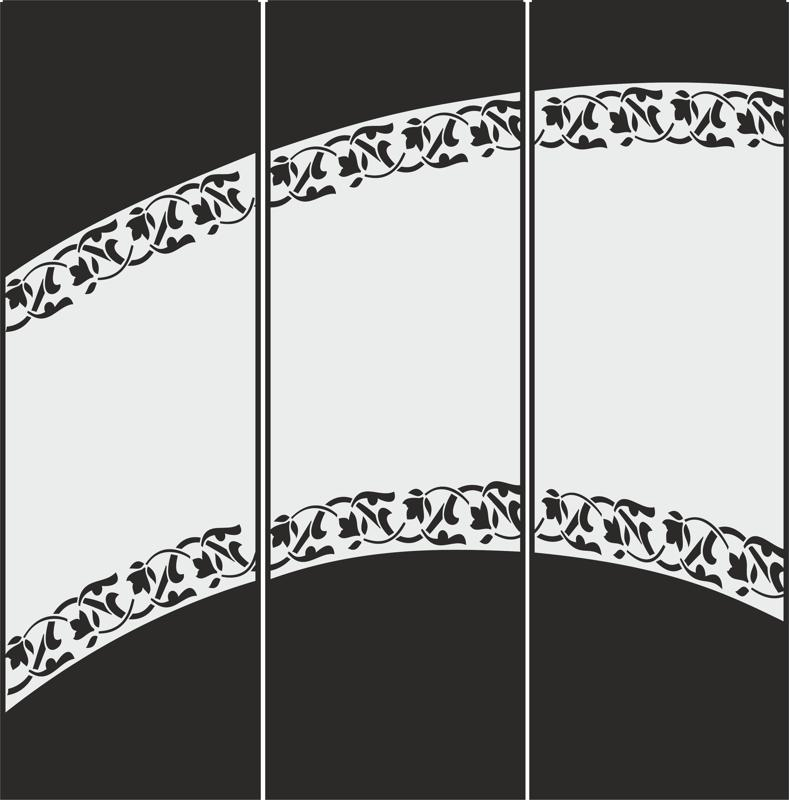 Decorative Frosted Glass Pattern Free Vector Cdr