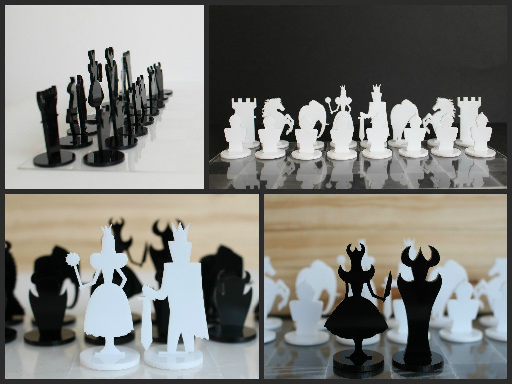 CNC Chess Set Plans Free Vector Cdr
