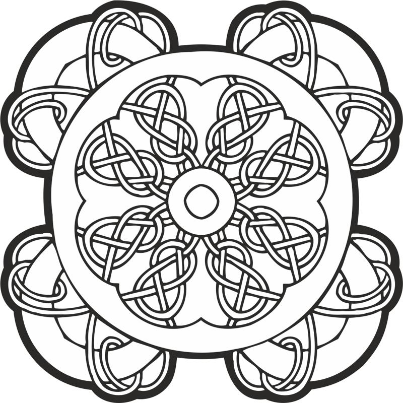 Celtic Knot Pattern Free Vector Cdr