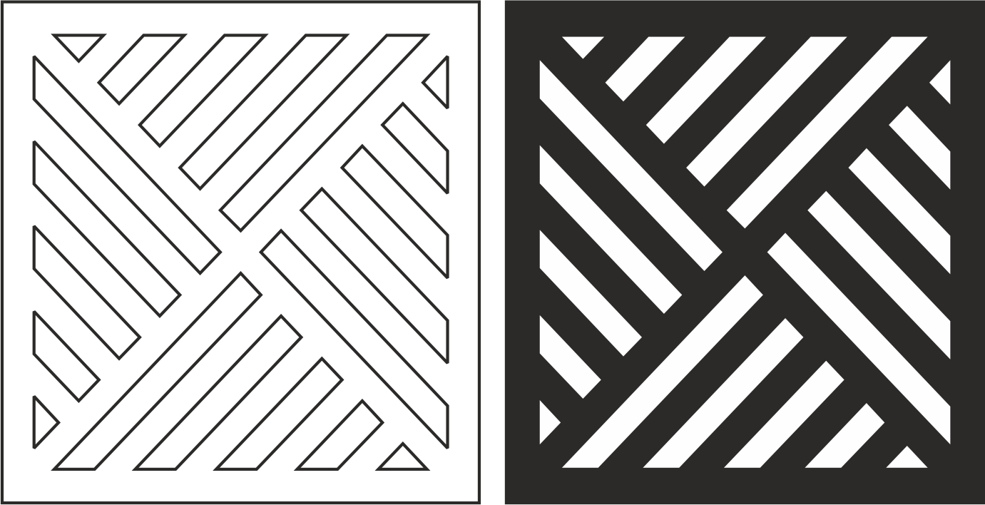 Geometric Grille Pattern Vector Free Vector Cdr