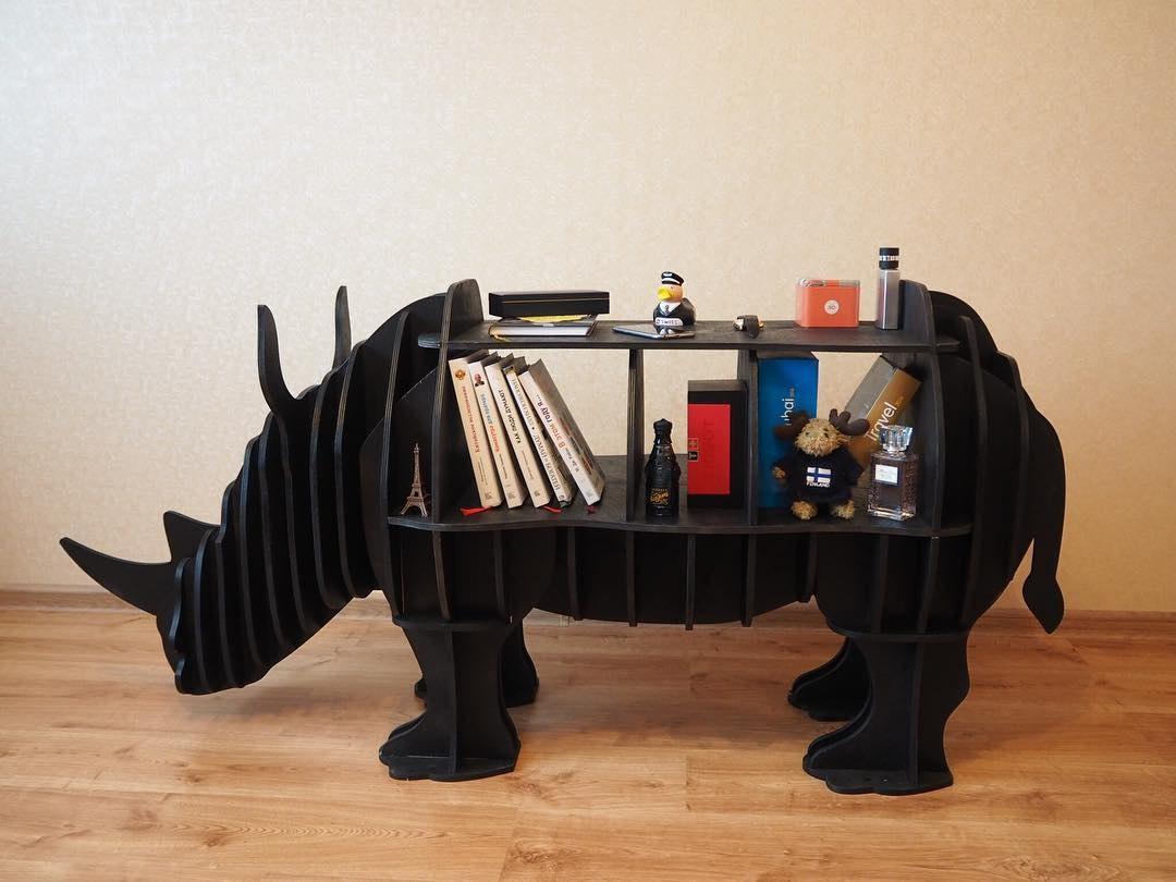 Rhino shelf plan vector 8mm Free Vector Cdr
