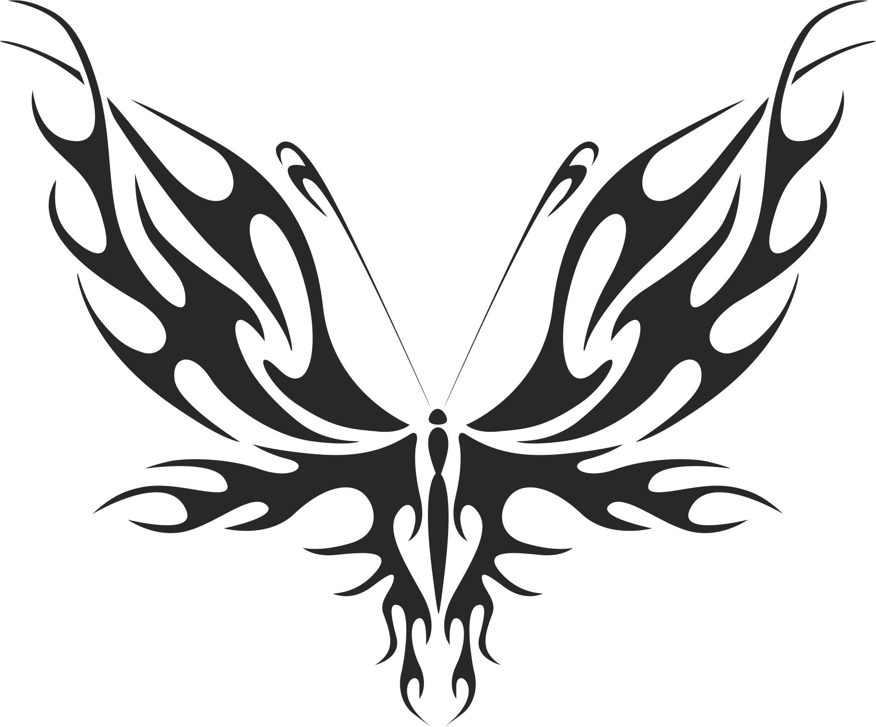 Butterfly Vector Art 031 Free Vector Cdr