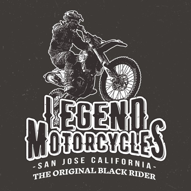 Motorcycle Sticker Free Vector Cdr