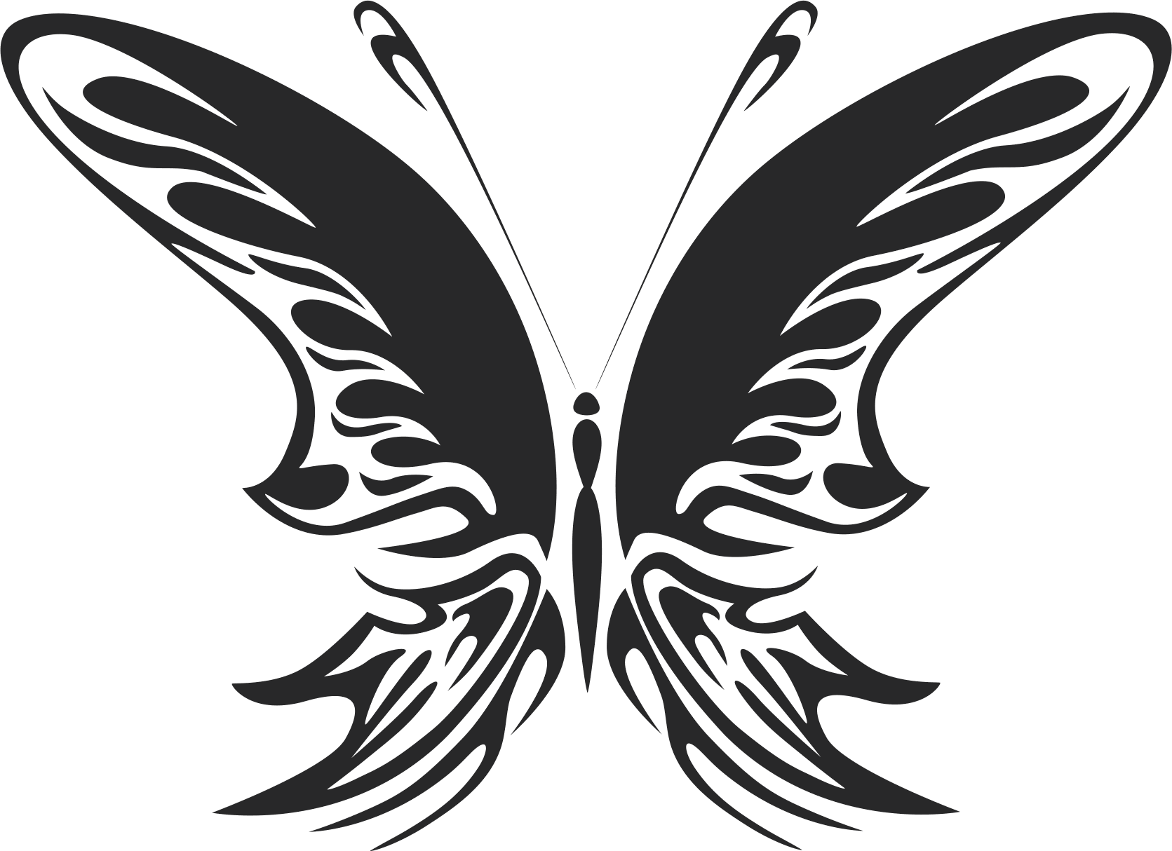 Butterfly Vector Art 022 Free Vector Cdr