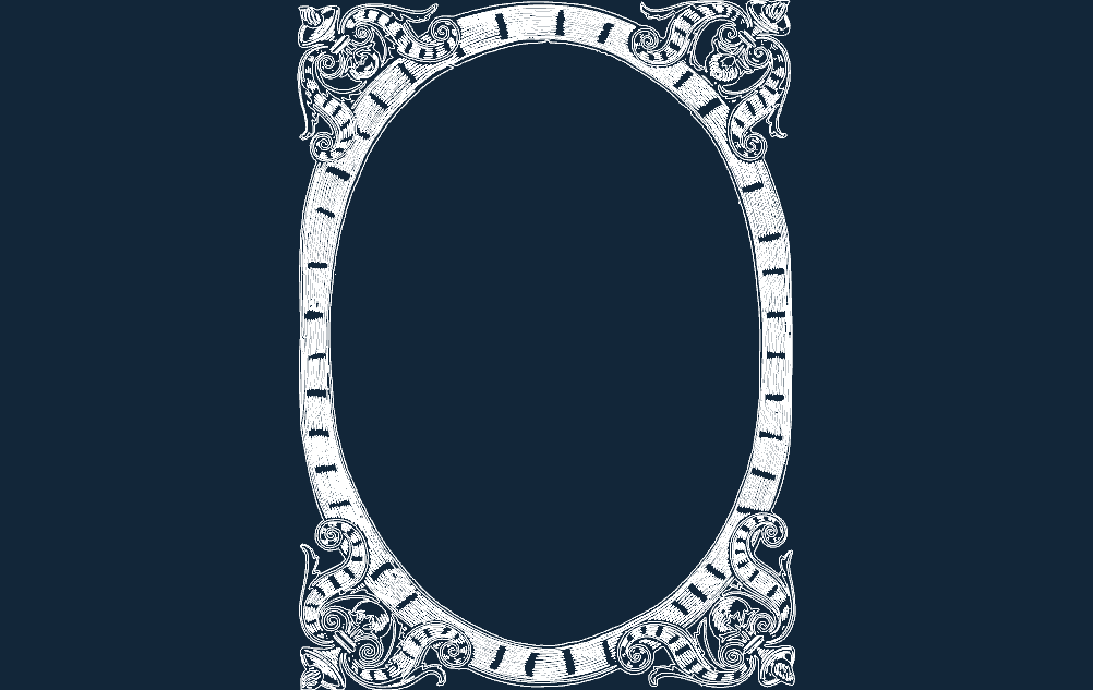 frame fancy Free Dxf for CNC