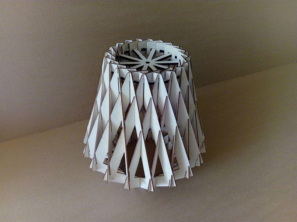 lampa brilliant x3 Free Dxf for CNC