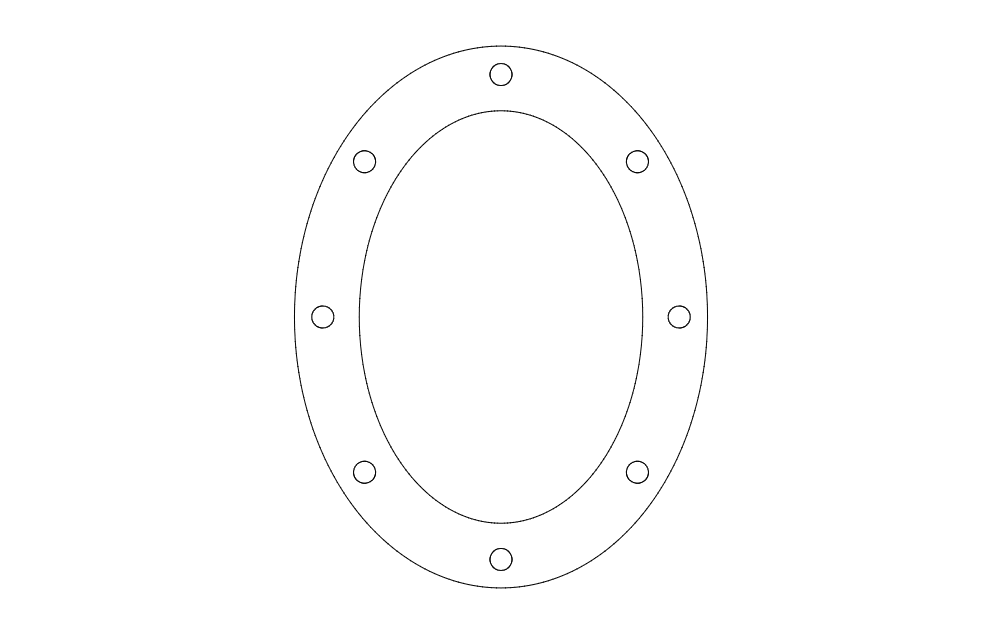 oval pattern Free Dxf for CNC File Free Download   3D Free