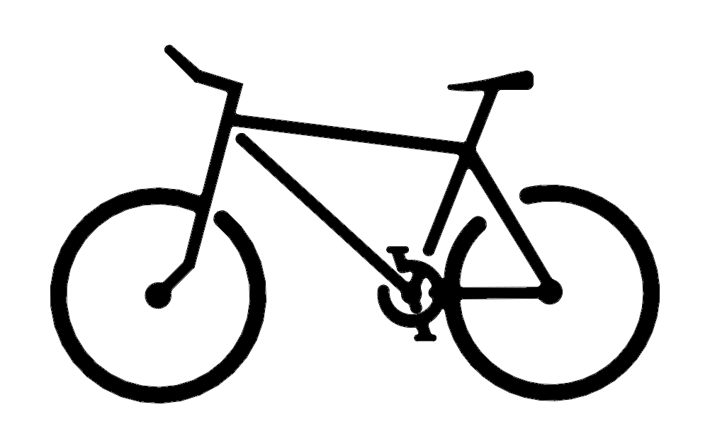 bicycle1 Free Dxf for CNC