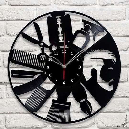 clock Free Dxf for CNC
